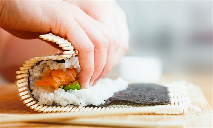 Sushi Making Class for Two at Blowfish Restaurant