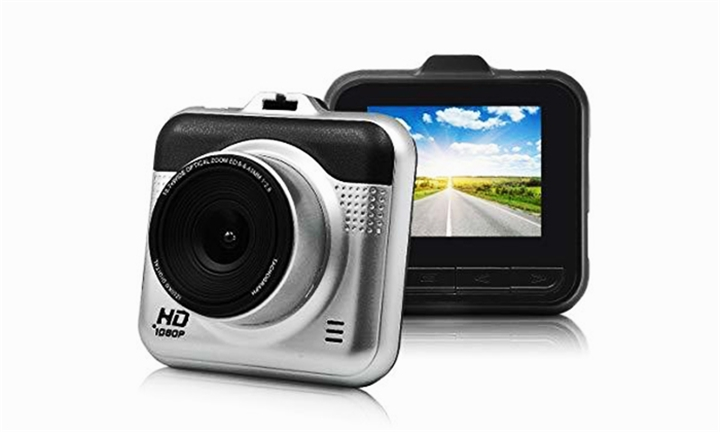 1080P FHD Smart Car Dash Camcorder with G-Sensor & 140' Lens for R399