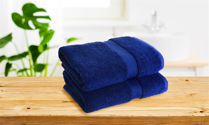 Luxury Cotton Towelling Bath Sheet (Royal Blue) for R249