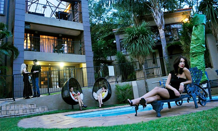 Pretoria: 1 or 2-Night Anytime Stay for Two in a Standard or Luxury Room at Waterfalls Boutique Hotel