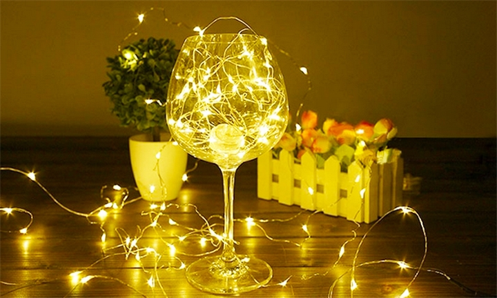 Lumos Cool or Warm 10/20/30m Battery Operated LED String Fairy Lights from R99