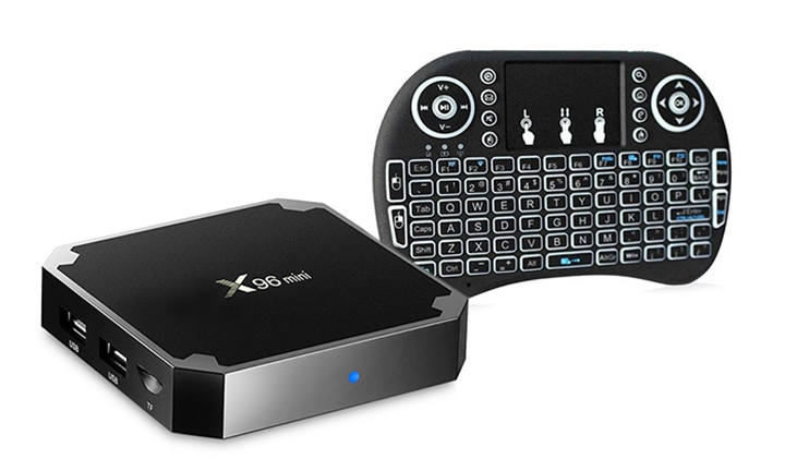 X96 4K Android 7.1 Streaming Media Box with FREE Wireless Keyboard from R749