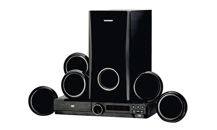 Telefunken 5.1 Channel Home Theatre System + 30 Day FREE Cover for R1599*