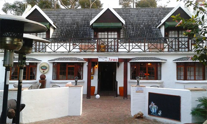Garden Route: 1 or 2-Night Anytime Self-Catering Stay for Two or up to Eight at The Arms Restaurant and Lodge