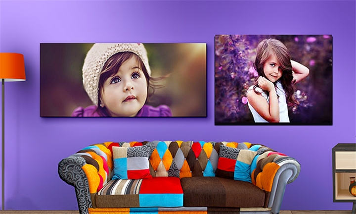Pack of A4 or A3 Stretch-Framed Canvas Prints from C-Star graphics and Digital Printing