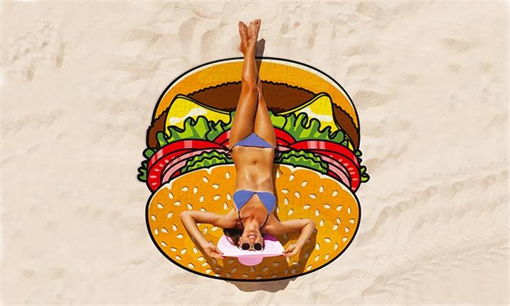 BigMouth Beach Blanket (Burger) for R549