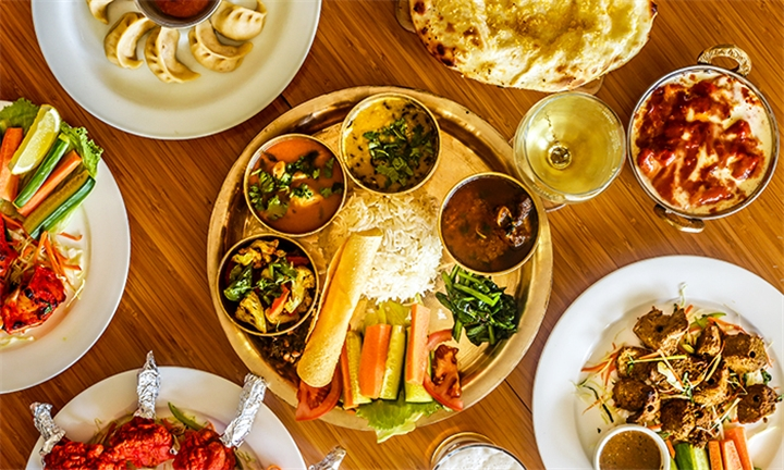 Authentic Indian Tapas for up to Four at Vandiar's Indian Cuisine