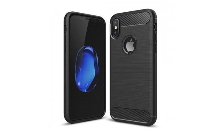 Tuff-Luv Brushed Protective Shockproof Back Cover Case for Apple iPhone XXS for R149