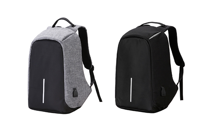 Lifestyle Anti-Theft Backpack with External USB Charging for R279