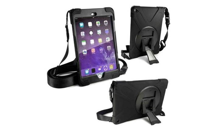 Tuff-Luv Rugged Armour Case with Shoulder Strap & Stand for Apple iPad Mini 4 for R449