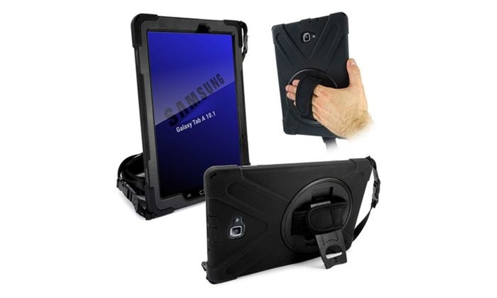 Tuff-Luv Rugged Case & Stand for Samsung Galaxy Tab A 10.1 for R449