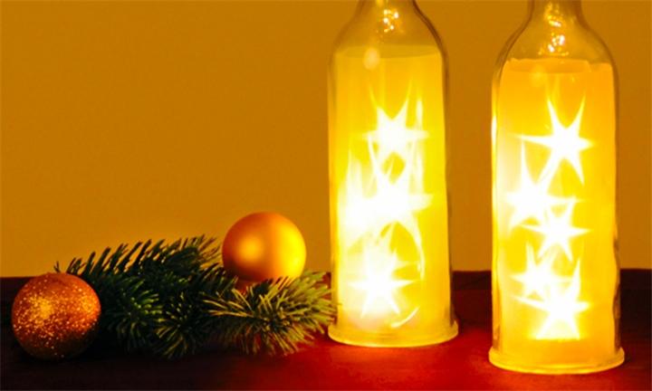 Bottled Starry LED Fairy Lights for R139