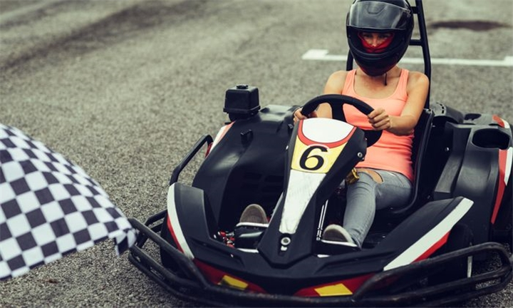 Adventure Package: Go-Karting, Paintball & Drift Trike for up to Six at Adventure Freaks