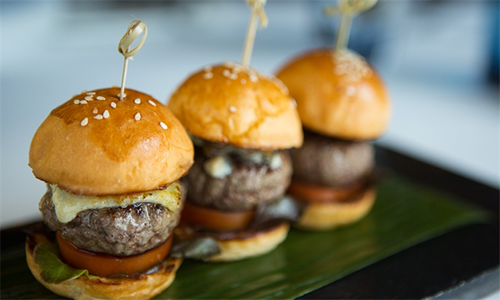 Choice of 200g Burgers or Mini Slider Combo for Two at Molly Malone's