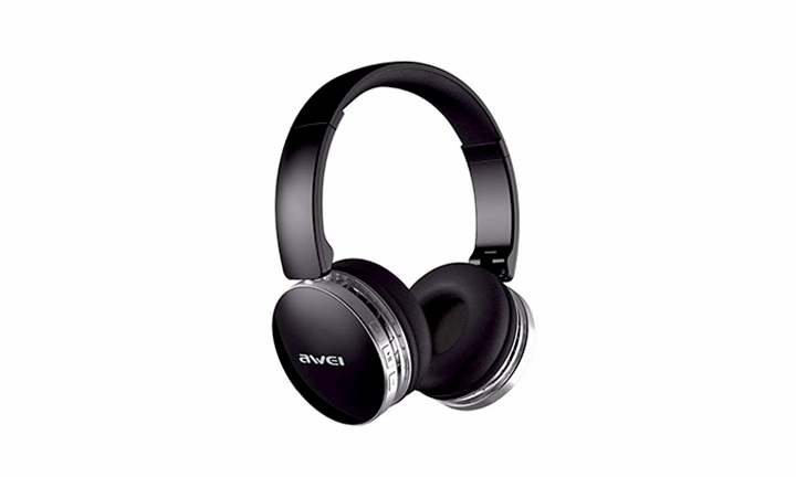 Awei A500BL Black Bluetooth Headphones for R429