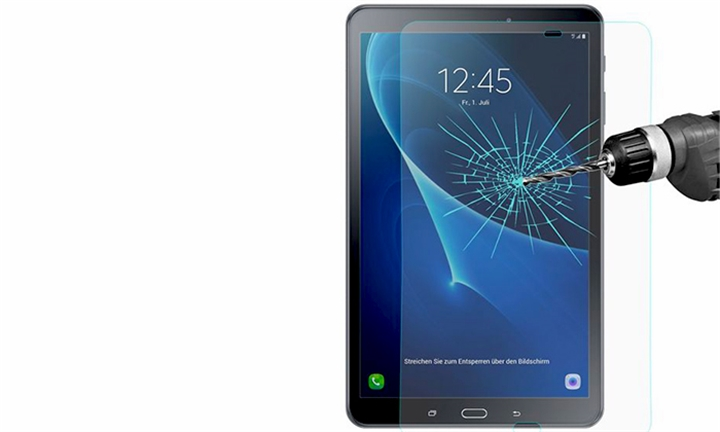 Tuff-Luv Tempered Glass Screen Protection for Samsung Galaxy Tab A 10.1