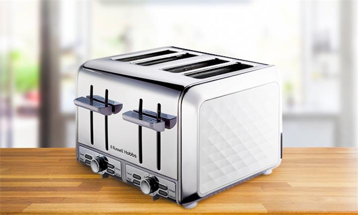 Russell Hobbs Diamond 4-Slice Toaster for R899