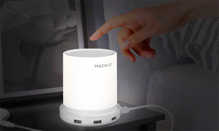 Macally Table Lamp with 4 USB Port Charger Built-in for R599