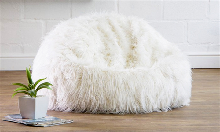 Layla Faux Fur Bean Bag Chair for R1499 + Free Delivery