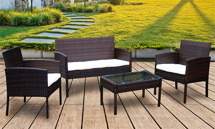 Montego 4pc Rattan Furniture Set for R2999