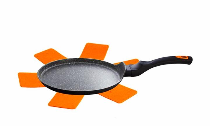 Berlinger Haus Granit Diamond 25cm Induction Pancake Pan (Orange) for R379