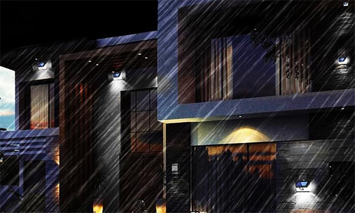 Lumina 46 LED Motion Sensor Solar Light for R229