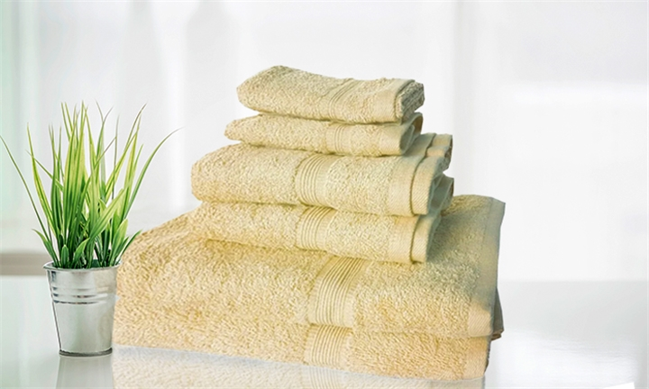 6 Piece 500gsm Towel Set for R399