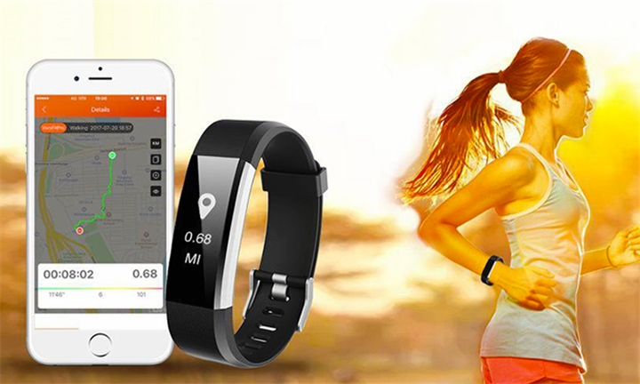 Veryfit H115 Plus - Fitness Tracker for R579