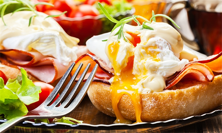 All Day Breakfast for Two at Cafe Rossini
