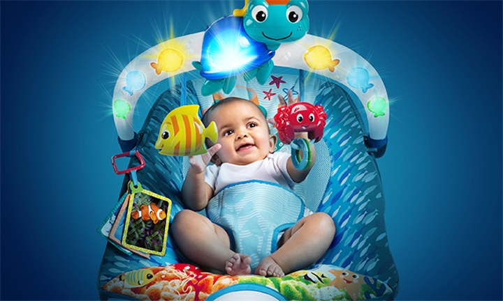 Baby Einstein Neptune Lights & Sea Bouncer for R999