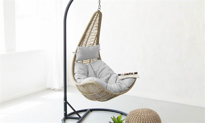 Lucia PE Rattan Hanging Chair for R2999 + Free Delivery
