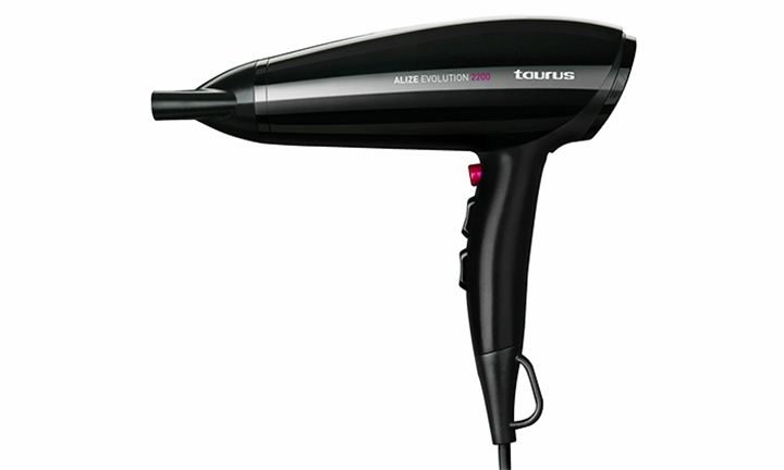 Taurus Alize Evolution Hair Dryer With Attachments Plastic for R269