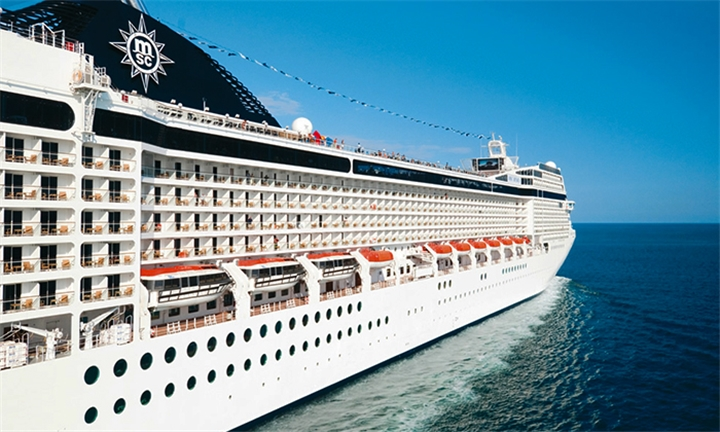 Limited Cabins: 22 December 2018 MSC: 5-Night Maputo, Portuguese Island and Pomene Cruise for Two Adults Aboard the MSC Musica