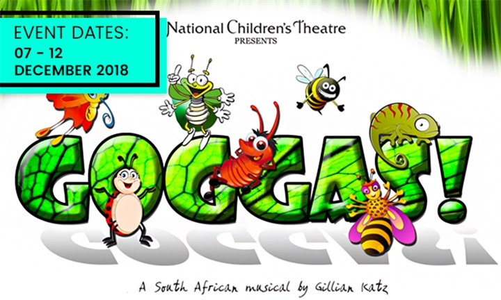 Ticket for One to Gogga's Production at the National Children's Theatre