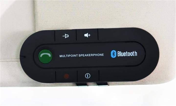 Multipoint Speakerphone 4.1 + EDR Wireless Bluetooth Handsfree Car Kit for R149