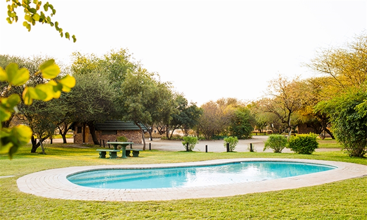 Botswana: 1 or 2-Night Midweek or Anytime Stay for up to Four at Woodlands Stop Over and Lodge