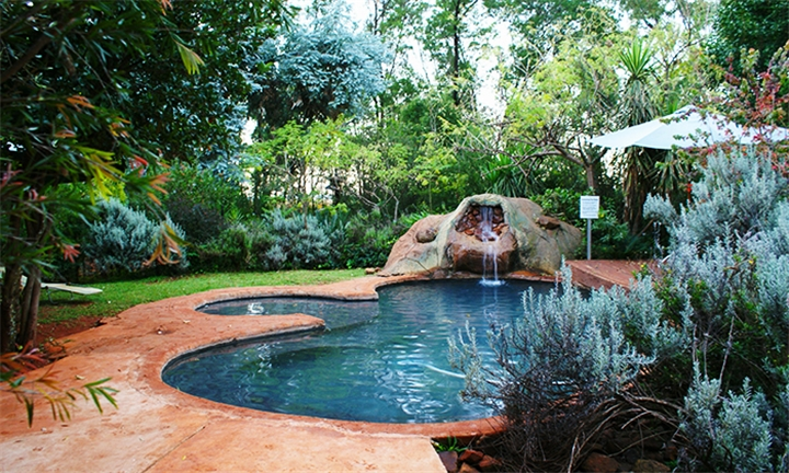 Magaliesburg: 1 or 2-Night Midweek Self-Catering Stay for up to Four at Woodland Gardens Lodge