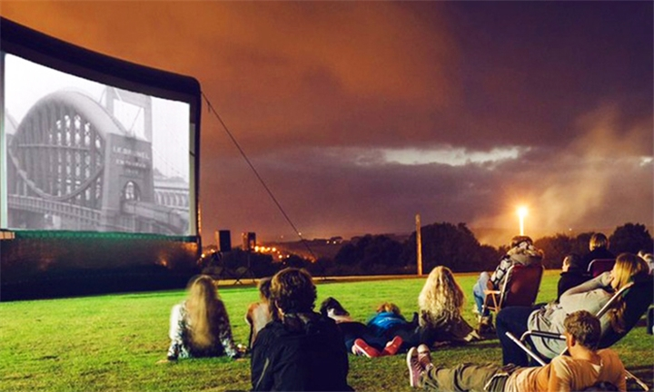 Magical Outdoor Movie Experience for Two