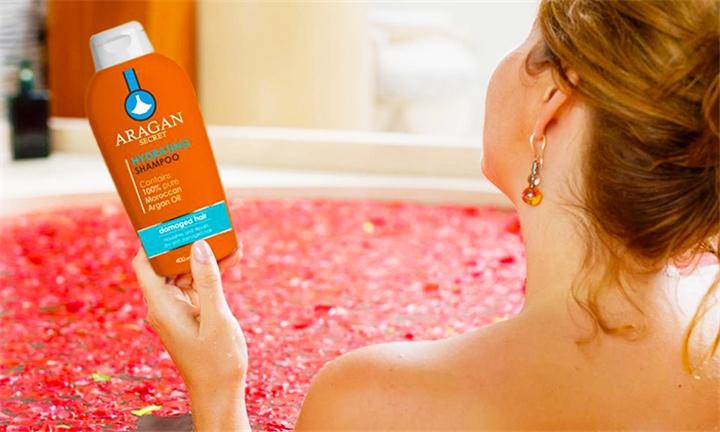 Aragan Secret Hydrating Shampoo for R89