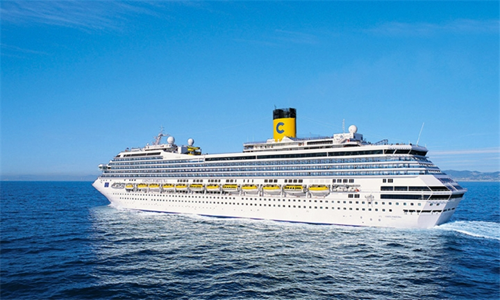 Luxury Cruise: 7-Night Italy, France, Spain and Balearic Islands Cruise for Two Aboard the Costa Fortuna