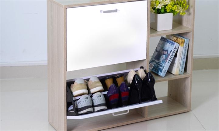 2 Door Shoe Cabinet with Storage Shelf for R899