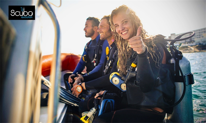 Introductory Scuba Diving Course for One or Two with Scuba Evolution