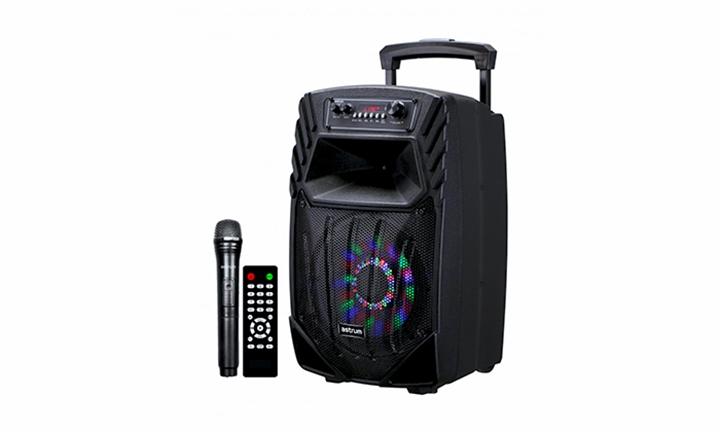 Astrum Smart Trolley Multimedia Speaker 40W + Smart App / Tweeters for R1299
