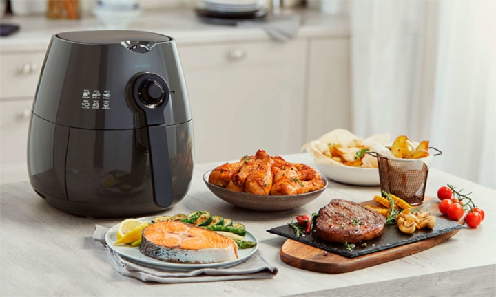 Philips Viva Collection Cashmere Grey Airfryer for R1899