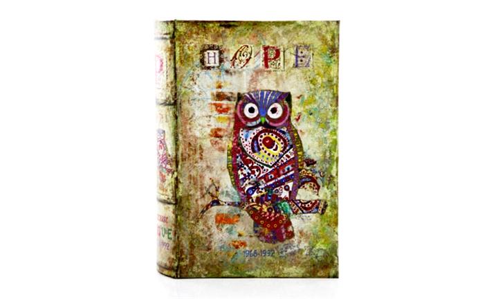 Vintage Style Hope Book Safe for R169