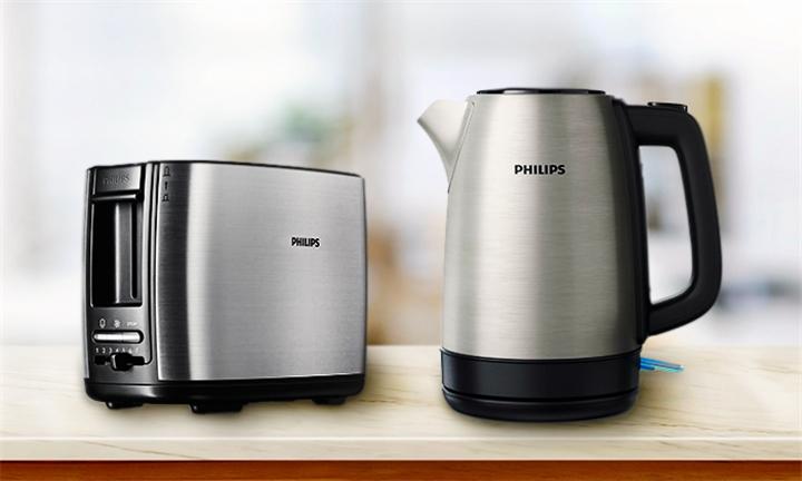 Philips Stainless Steel Breakfast Bundle for R799