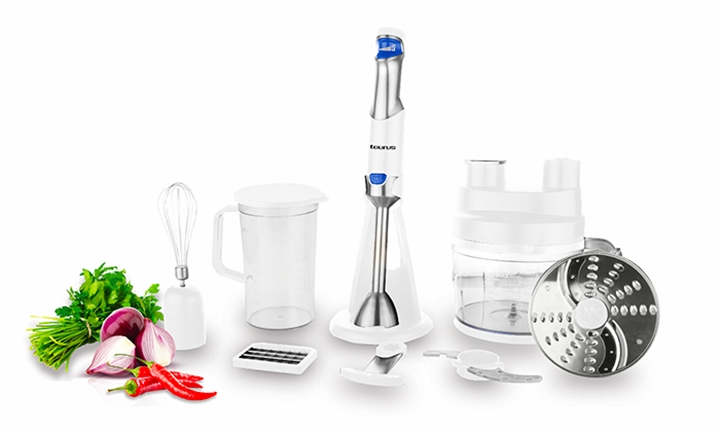 Taurus Batedor Food Processor With Attachments for R1499