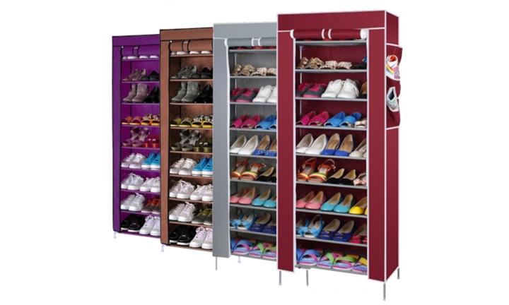 Nine-Tier Shoe Storage Rack for R249