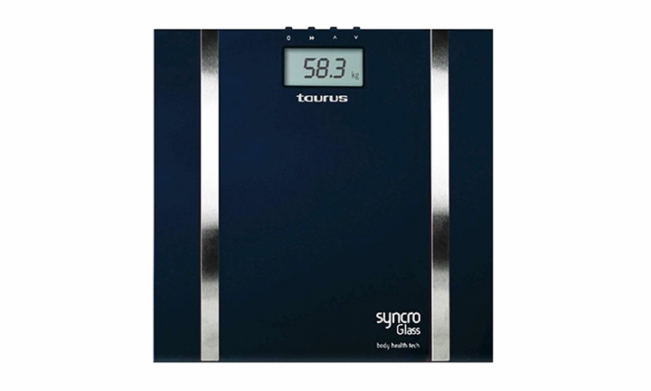 Taurus Syncro Glass Bathroom Scale with Auto Off Switch for R359