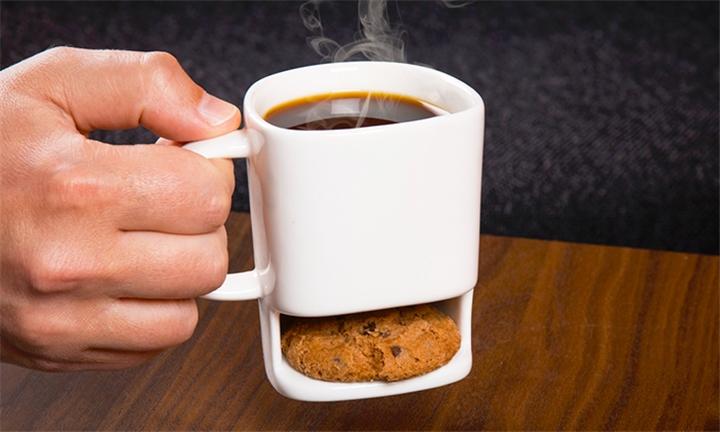 Coffee Mug with Cookie Pocket for R169